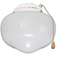 Schoolhouse 1 Light Appliance White Fan Light Kit