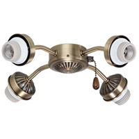 Emerson F440AB Signature 4 Light Antique Brass Fan Fitter