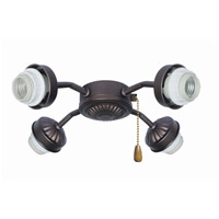 Signature 4 Light Oil Rubbed Bronze Fan Fitter