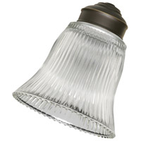 Emerson G26 Signature Clear Ribbed Glass Shade