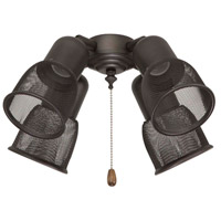Rubbed Bronze Fan Light Kits