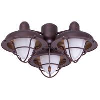 Emerson LK40VNB Boardwalk Cage LED Venetian Bronze Fan Light Fixture