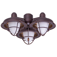 Emerson Boardwalk Cage 3 Light Venetian Bronze Fan Light Kit
