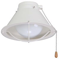 Seaside Lamp 1 Light Summer White Fan Light Kit