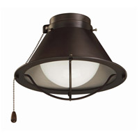 Seaside Lamp 1 Light Oil Rubbed Bronze Fan Light Kit