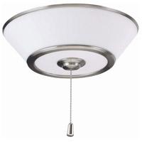 Emerson LK500BS Euclid LED Brushed Steel Indoor Fan Light Fixture