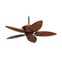 Emerson Fans Paradise Key Tommy Bahama 4 Light Ceiling Fan in Medium Antique Brown with Medium Antique Brown Blades TB301MAB