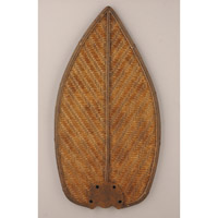 Emerson Fans Tommy Bahama Fan Blades in Antiqued Stain Wciker (Set of 5) TB565ASW photo thumbnail