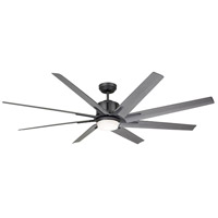 Aira Eco 72 inch Graphite with All-Weather Driftwood Blades Ceiling Fan