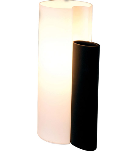ET2 Amphora 1-Light Table Lamp in Black E20014-02 photo