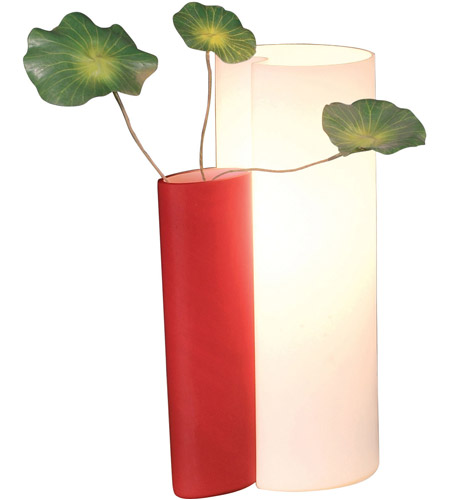 ET2 Amphora 1-Light Table Lamp in Red E20014-03 photo