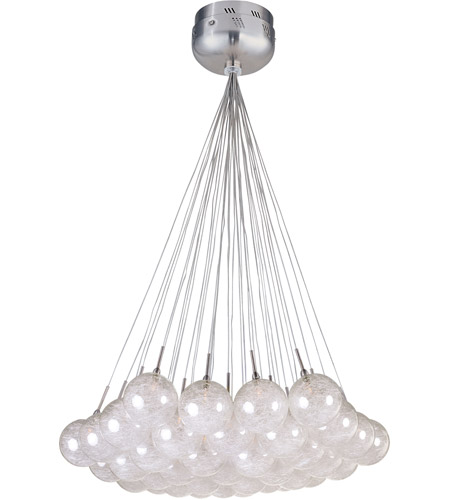 ET2 Starburst 37 Light Pendant in Satin Nickel and Polished Chrome E20112-79 photo