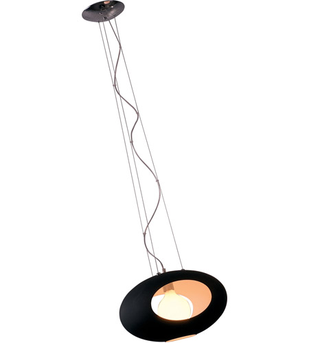 ET2 Luna 1 Light Pendant in Polished Chrome E20166-02 photo
