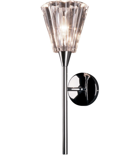 ET2 E20191-19 Vision 1 Light 10 inch Polished Chrome Wall Sconce Wall Light photo