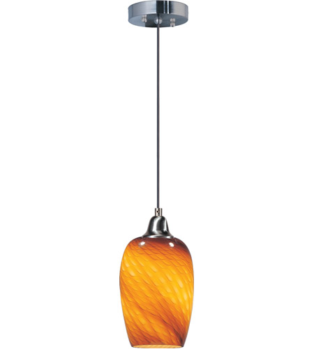 ET2 Hue 1 Light Mini Pendant in Satin Nickel E20202-14 photo