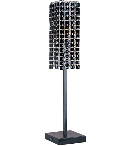 ET2 Black Ice 1 Light Buffet Lamp in Crystal E20239-20 photo