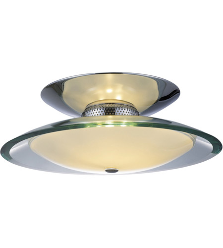 ET2 Curva 3 Light Flush Mount in Polished Chrome E20522-10 photo