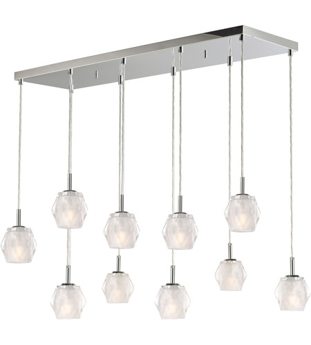 ET2 E20719-82PC Tangent LED 20 inch Polished Chrome Linear Pendant Ceiling Light photo