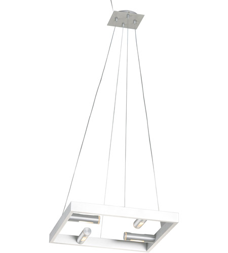 ET2 Stealth 4 Light Pendant in Brushed Aluminum E20743-09 photo