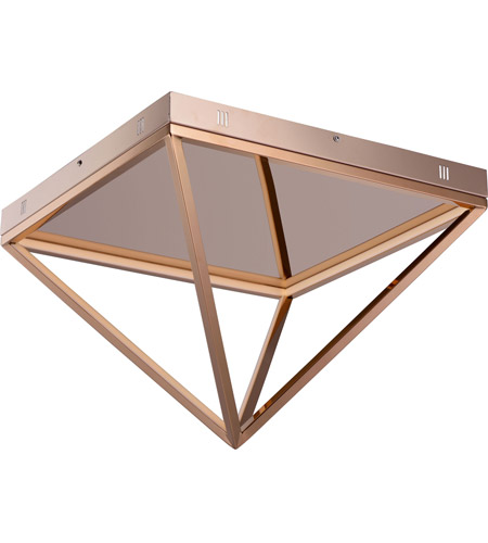 Et2 e20812 rg pyramid led 20 inch rose gold flush mount ceiling light aloadofball Images