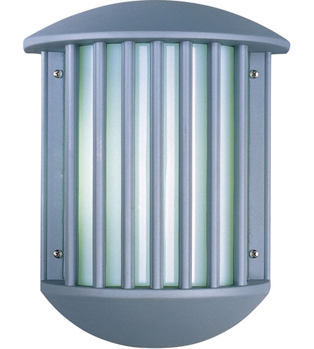 ET2 E21053-61PL Zenith II 2 Light 14 inch Platinum Outdoor Wall Mount photo