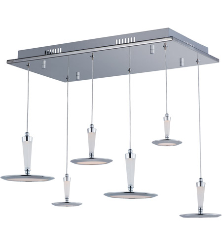 ET2 E21166-01PC Hilite LED 13 inch Polished Chrome Pendant Ceiling Light photo thumbnail