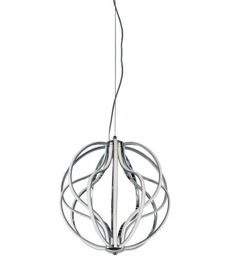 ET2 E21174-PC Aura LED 17 inch Polished Chrome Pendant Ceiling Light photo