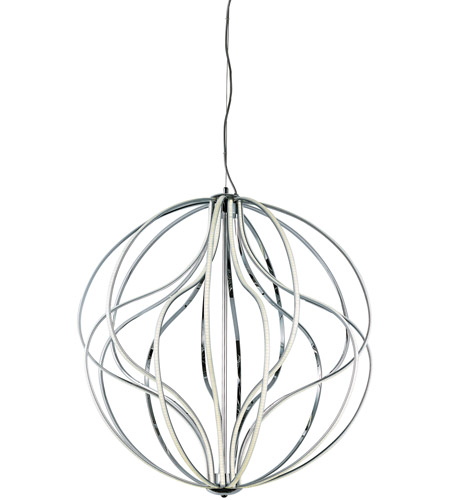 ET2 E21178-PC Aura LED 32 inch Polished Chrome Pendant Ceiling Light photo