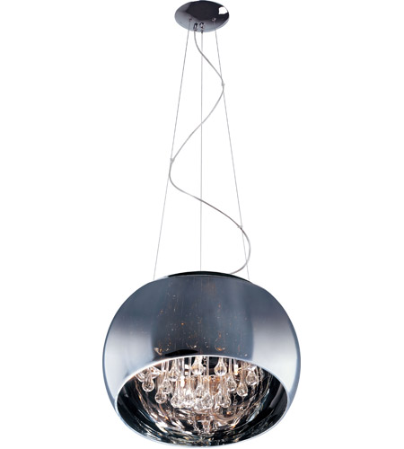 ET2 Sense 6 Light Pendant in Polished Chrome E21206-10PC photo