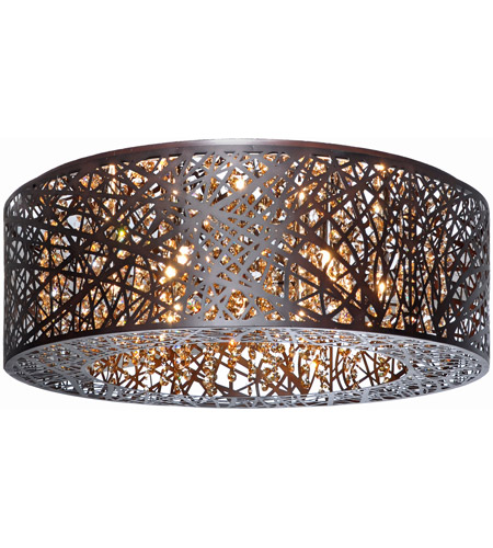 Et2 e21301 10bz inca 9 light 24 inch bronze flush mount ceiling et2 e21301 10bz inca 9 light 24 inch bronze flush mount ceiling light in without bulb clearwhite aloadofball Choice Image