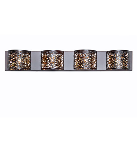 ET2 E21317-10BZ/BUL Inca LED 4 inch Bronze Flush Mount Ceiling Light in Cognac photo