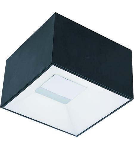 Et2 e21360 61bk collage led 6 inch black flush mount ceiling light aloadofball Images