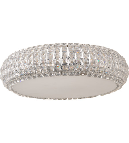 ET2 E21801-20PC Bijou 6 Light 16 inch Polished Chrome Flush Mount Ceiling Light photo