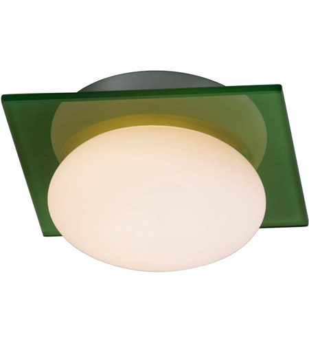 ET2 Buttons 1 Light Wall Sconce in Brushed Aluminum E22022-31 photo