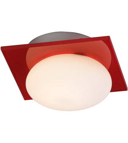 ET2 Buttons 1 Light Wall Sconce in Brushed Aluminum E22022-33 photo