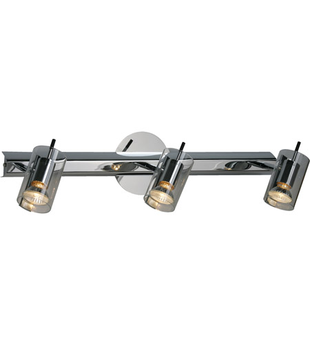 ET2 Flash 3-Light Wall/Ceiling Mount in Polished Chrome E22025-18 photo