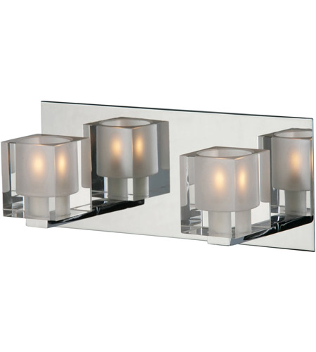 ET2 E22032-18 Blocs 2 Light 12 inch Polished Chrome Bath Light Wall Light in 11.5 in. photo