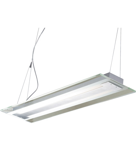 ET2 Contempra 2-Light Pendant in Brushed Aluminum E22123-10 photo