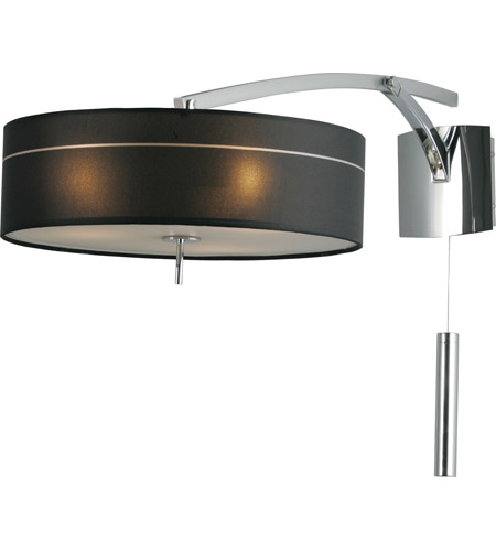 ET2 Study 3-Light Wall Sconce in Polished Chrome E22133-11 photo