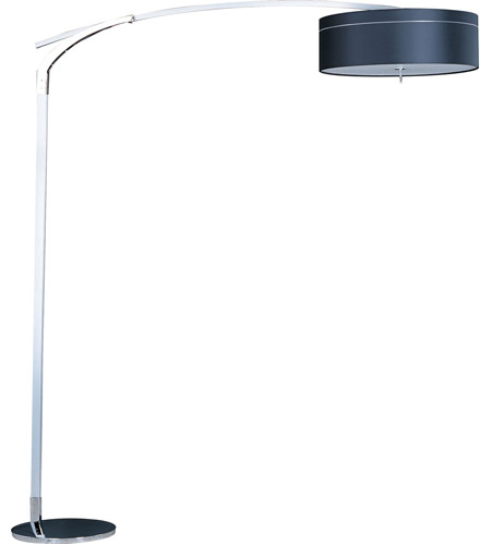 ET2 Study 3-Light Floor Lamp in Polished Chrome E22134-11 photo