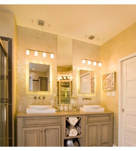 Blocs 4 Light Bathroom Vanity Lights in Polished Chrome E22170 18