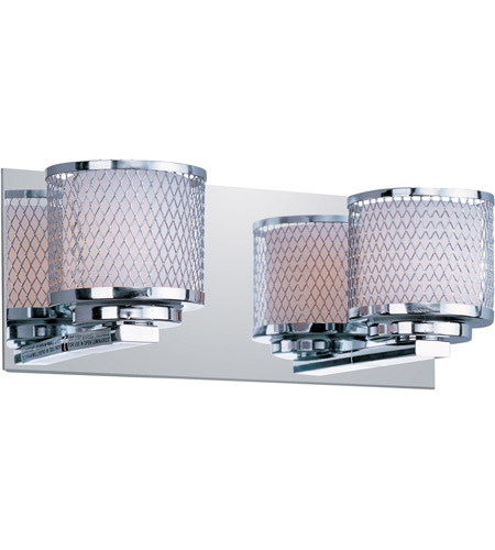 ET2 Mesh 2 Light Bath Light in Polished Chrome E22342-10PC photo