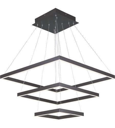 ET2 E22407-BZ Quad LED 28 Inch Bronze Pendant Ceiling Light