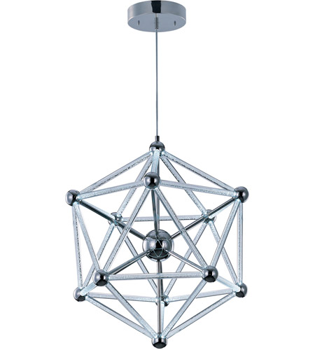 ET2 Polygon 60 Light Single Pendant in Polished Chrome E22614-91PC photo