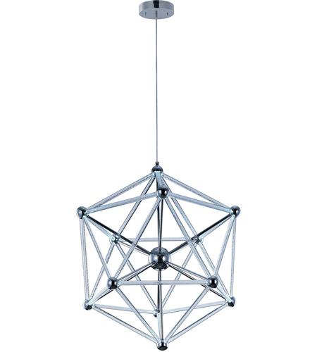 ET2 Polygon 60 Light Single Pendant in Polished Chrome E22616-91PC photo