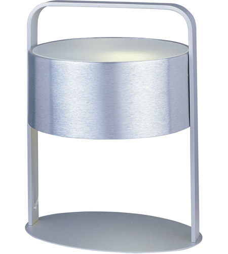 ET2 E22705-77 Percussion 13 inch 26 watt Polished Chrome Table Lamp Portable Light photo