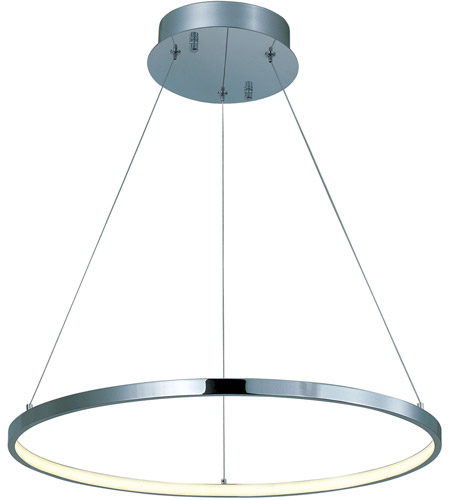 Et2 e22713 pc hoops led led 24 inch polished chrome pendant ceiling et2 e22713 pc hoops led led 24 inch polished chrome pendant ceiling light aloadofball Choice Image