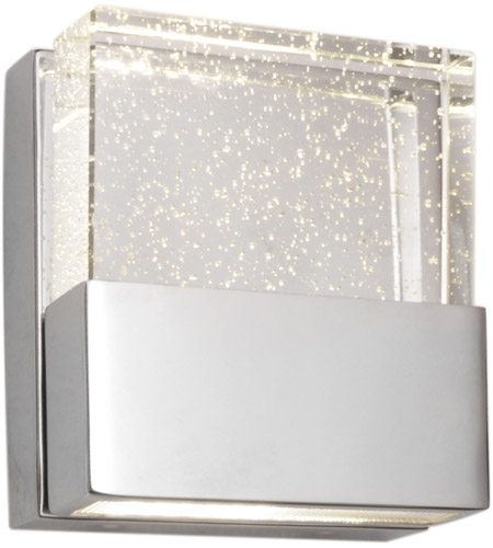 ET2 Fizz 1 Light Bath Light In Polished Chrome E22731 89PC