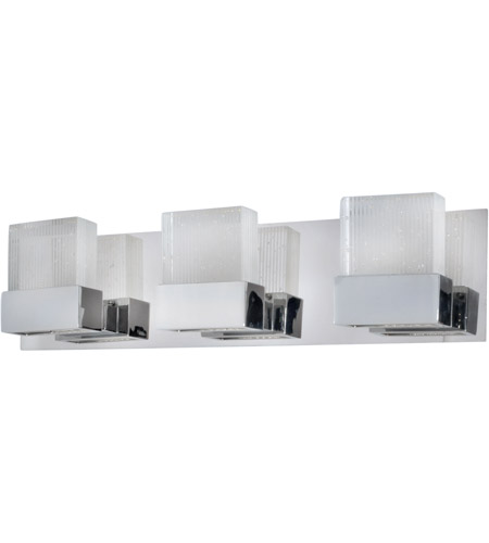 ET2 Fizz 3 Light Bath Light In Polished Chrome E22733 89PC