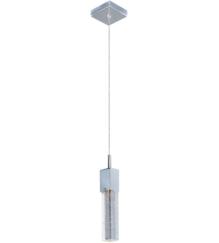 ET2 E22761 89PC Fizz III LED 5 Inch Polished Chrome Mini Pendant Ceiling Light